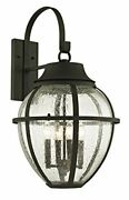 Troy Lighting B6463 Park Slope Outdoor Wall Sconce Large Forged Iron