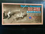 Vintage 1973 Sports Illustrated All Time All Star Baseball Board Game Rare
