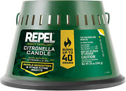 Repel Mosquito And Insect Repellent Citronella Oil Candle Triple Wick Outdoor