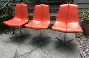Set Of 3 Richard Schultz For Knoll Dining Chairs Mid Century Modern