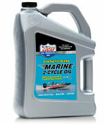 1 Gallon Lucas Oil 10861 Synthetic Blend 2-cycle Marine Oil