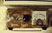 Vintage American Electronics 3-function Power Swr Field Strength Meter 95-135