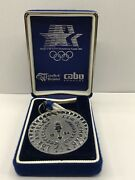 Waterford Crystal 1984 Los Angeles Olympic Collectors Medal - Reduced