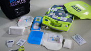 Zoll Aed Plus -defibrillator - New - Carry Case - Pads - Battery - Free Shipping