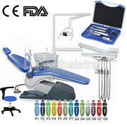 Dental Unit Chair Hard Leather Computer Controlled Fda Ce Approved+handpiece Kit