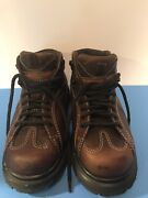Doc Martens England Brown Leather Sz 6 Menand039s Excellent