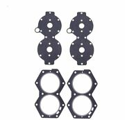 2x Evinrude Johnson 318358 V4 88 90 100 110 115 140 Hp Head And Cover Gasket Set