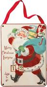 New 14.5 Primitives By Kathy Merry Christmas Wooden Countdown 32275