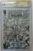 The Walking Dead 1 Ny Sketch Edition Signed And Ed Neal Adams 10/100 Cgc 9.8 Ss
