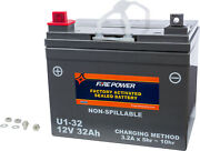 Fire Power Battery U1-32 Sealed Factory Activated U1-32