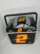 Rusty Wallace Ice Chest Miller L Genuine Draft 2 Ford Taurus Black Red And Gold