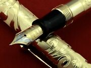 W.a. Sheaffer Limited Edition 18k Gold Nib Commemorative Fountain Pen Never Used