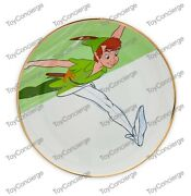 Disney Parks Ink And Paint - Salad Plate - Peter Pan - New