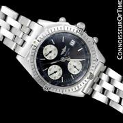 Breitling Windrider Chronomat Mens Stainless Steel Watch - Mint With Warranty