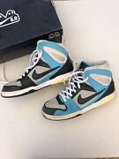 Nike 6.0 Zoom Oncore High Size 8.5 Baltic Blue/ Neautral Grey