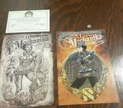 Lady Mechanika 0 And 1 Nm-andvf Aspen Retailer Incentive Limited Sketch Signed Coa