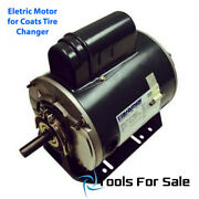 Mo181100 Electric Motor For Coats Tire Changers 110v