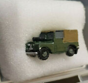 First Additions 036. N Scale Mark 1 Landrover-closed Top-painted And Assembled.
