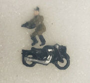 First Additions 075. N Scale Motorcycle And Rider. Painted