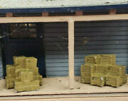 First Additions 080. N Scale Stacked Crates 2