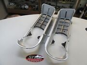 Firebird 400 New Pair Of Front Grills W Chrome Strip Gm Licensed Part 1967 67