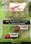 1954 Ford Box Truck-acme Beer W/outdoor Country Billboard. Cmw 60003 N Scale