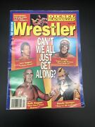 The Wrestler Magazine April 1996 Lex Luger Sting Hulk Hogan Macho Man