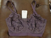 Else Petunia Full Cup Underwire Bra In Fig Size 36f   New