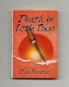 Dale Furutani / Death In Little Tokyo 1st Edition/1st Printing Signed 16774