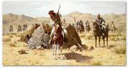 The Second Geronimo Campaign - By Howard Terpning - Giclee On Canvas