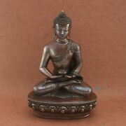 Hand Carved Fine Quality Amitabha Buddha Opame Copper Statue From Patan Nepal