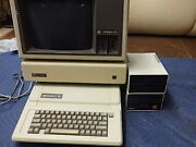 Apple ][e Computer System Rare System With Many Upgrades And Additions  2