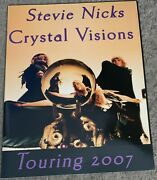 Stevie Nicks 2007 Crystal Visions Tour Book Boots Are Back Program Fleetwood Mac