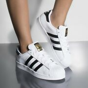 🔴 Adidas Originals Superstar Womenand039s Athletic Sneakers White Shell Toe Shoes