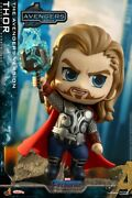 Hot Toys Ht Cosb783 Thor Avengers Endgame Cosbaby Bobble-head Figure Soldier
