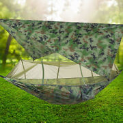 Outdoor Camping Hammock With Mosquito Net Portable Travel Hiking Camping Tent