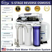 Ispring Rcc7p 5-stage 75gpd Reverse Osmosis Water Filter System W/ Booster Pump