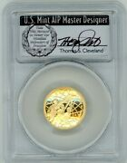 2020-w 5 Proof Gold Basketball Hall Of Fame Pr70 Pcgs Fdoi T Cleveland Wreath