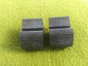 Chevy Buick Pontiac Suspension Control Arm Rubber Bumper Stop Wedge Upper - Pair