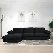 Sofas For Living Room Black Couch Sectional Sofa Left Hand Facing Chaise
