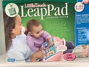 Leap Frog Little Touch Leappad Learning System Pink