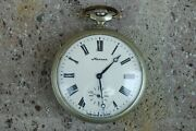 Vintage Unique Molnija Molnya St.george 18 Jewels Ussr Mechanical Pocket Watch.