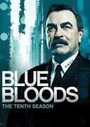 Blue Bloods The Tenth Season [new Dvd] Boxed Set, Subtitled, Widescreen, Ac-3
