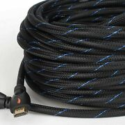 Hdmi Cable50 Ft/66ft Long Hdmi Cord Replacement For Hdmi Extension/extender