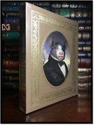 Animal Farm By Orwell ✎signed✎ Artist Sealed Easton Press Leather Limited 1/1200