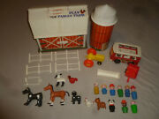 Fisher Price Little People Play Family Farm Figure Barn Lot Horse Chicken 915