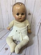 Lot Vintage Antique 1920s-1930s Baby Doll With 26 Pieces Of Clothing