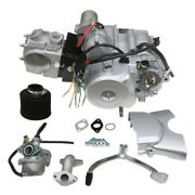 125cc Semi Auto Engine Motor Kit W/ Carb Parts Fr Atv Quad 4 Wheeler Utv Go Cart