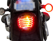 Custom Dynamics Red Led Integrated Turn Signal Taillight 99-17 Harley Touring