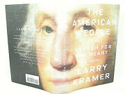 The American People Vol. 1 Search For My Heart By Larry Kramer Vg 1st 'signed